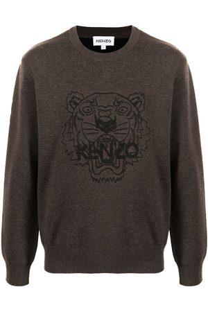 Kenzo Tiger-print crew neck sweatshirt