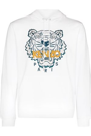 Kenzo Tiger embroidered relaxed hoodie