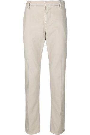 Dondup Men Chinos - Slim straight-leg chino trousers