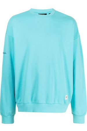 FIVE CM Men Sweatshirts - Logo patch cotton sweatshirt