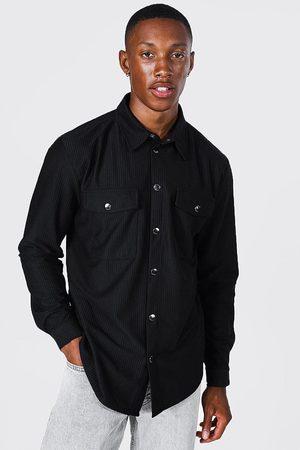 Boohoo Mens Corduroy Overshirt