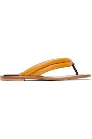 DRIES VAN NOTEN Leather Flip Flops