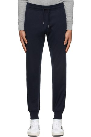 Tom Ford Navy Knit Regular-Fit Lounge Pants