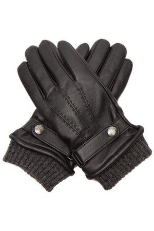 Dents Men Gloves - Henley Touchscreen-compatible Leather Gloves - Mens