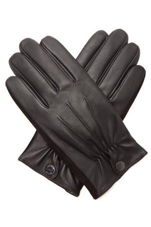 Dents Touchscreen Leather Gloves - Mens
