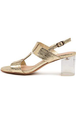 DJANGO & JULIETTE Sheree Dj Pale Clear Sandals Womens Shoes Dress Heeled Sandals