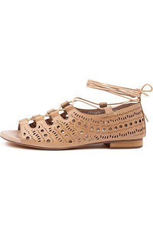 DJANGO & JULIETTE Pyperan Dj Nude Sandals Womens Shoes Casual Sandals Flat Sandals