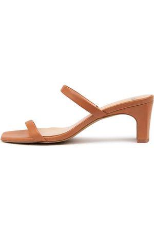 MOLLINI Hailed Mo Tan Sandals Womens Shoes Dress Heeled Sandals