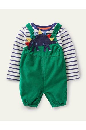 Boden Baby Bodysuits & All-In-Ones - Fun Dungaree Set Baby