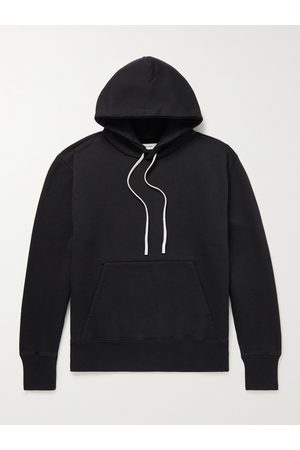 Applied Art Forms Men Hoodies - NM2-1 Logo-Embroidered Cotton-Jersey Hoodie