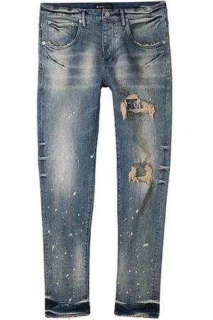 Purple Brand Bandana Patch Five-Pocket Jeans