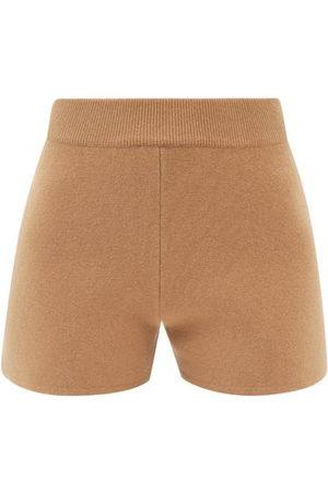 Max Mara Acro Shorts - Womens - Camel