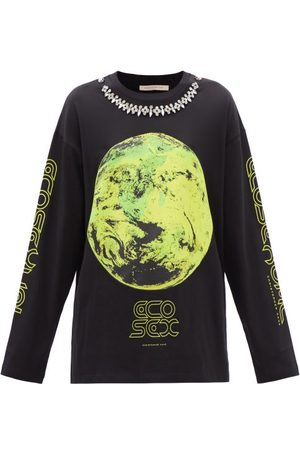 Christopher Kane Eco Sexual Cotton-jersey Long-sleeve T-shirt - Womens