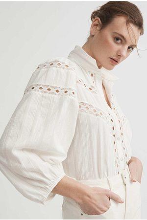 WITCHERY Women Blouses - Lace Trim Blouse
