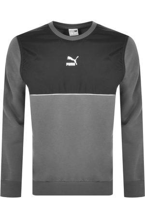 PUMA Men Sweatshirts - Castlerock Crew Neck Sweatshirt
