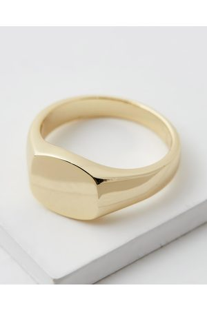 Serge DeNimes ICONIC EXCLUSIVE Plated Signet Ring - Jewellery ICONIC EXCLUSIVE- Plated Signet Ring