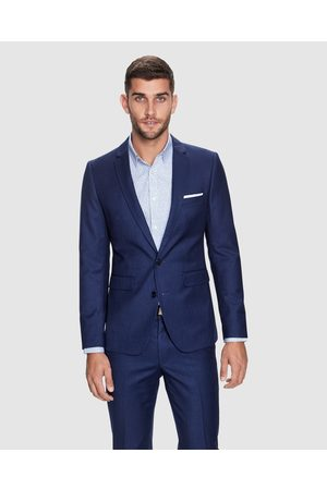 Yd. Wraith Slim Suit Jacket - Suits & Blazers (OXFORD NAVY) Wraith Slim Suit Jacket