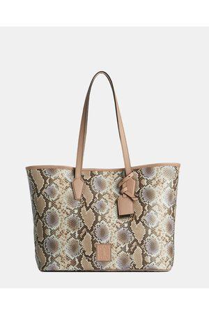 Naturalizer Women Tote Bags - Hamptons Tote Bag - Bags (Pastel Snake) Hamptons Tote Bag