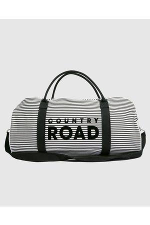 COUNTRY ROAD Flocked Stripe Tote - Bags Flocked Stripe Tote