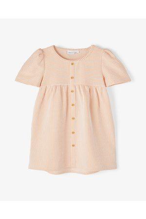 NAME IT Fame Short Sleeve Dress Babies Kids - Dresses (Cantaloupe) Fame Short Sleeve Dress - Babies-Kids
