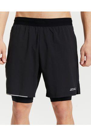 "2XU Aero 2 In 1 7"" Shorts - Shorts ( & Reflective) Aero 2-In-1 7"" Shorts"