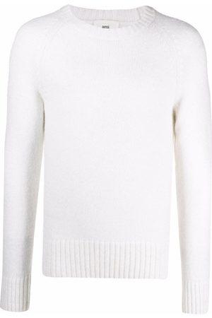AMI Paris Men Sweatshirts - Raglan-sleeve crew neck jumper
