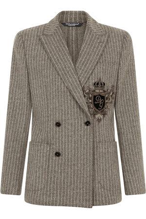 Dolce & Gabbana Appliqué double-breasted blazer