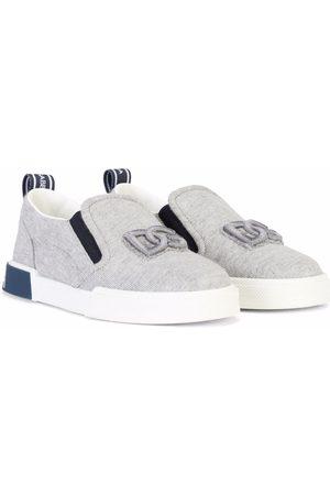 Dolce & Gabbana Kids Portofino Custom 2.0 slip-on sneakers