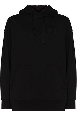 Y-3 Men Hoodies - Logo-print cotton hoodie