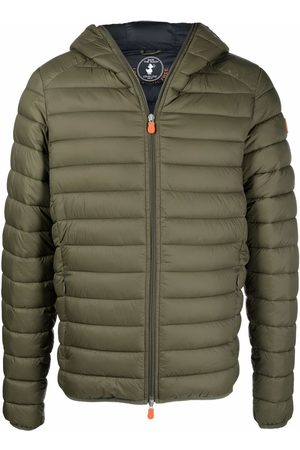 save the duck Men Winter Jackets - Hooded puffer jacket