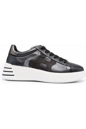 Hogan Women Sneakers - Rebel glittered sneakers