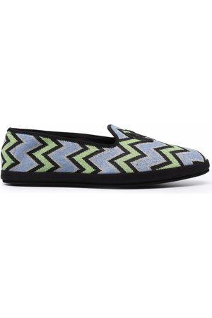 M Missoni Women Flat Shoes - M zig-zag slippers
