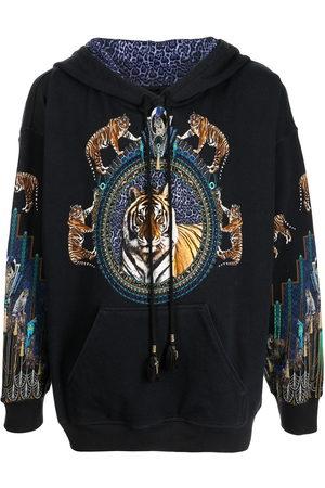 Camilla Men Hoodies - Drippin In Deco oversized hoodie