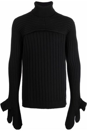 Fendi Convertible roll-neck jumper