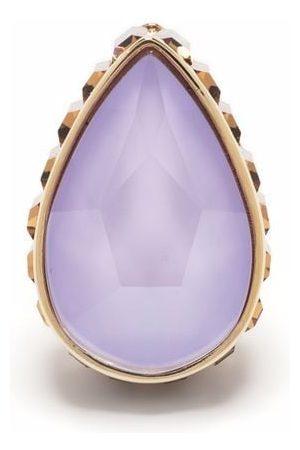 Swarovski Women Earrings - Orbita stud drop cut crystal single earring