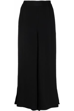Rodebjer Women Wide Leg Pants - Sigrid wide-leg twill trousers