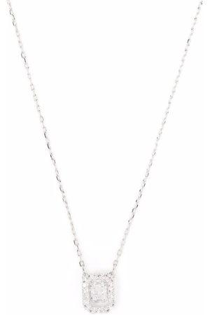 Swarovski Women Necklaces - Millenia square embellished necklace