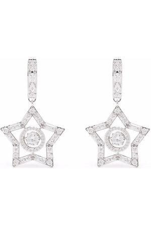 Swarovski Women Earrings - Stella star-motif earrings