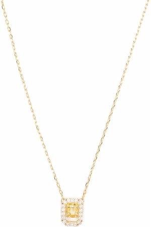 Swarovski Women Necklaces - Millenia square Zirconia necklace