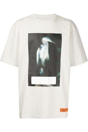 Heron Preston Men Short Sleeve - Heron-print T-shirt