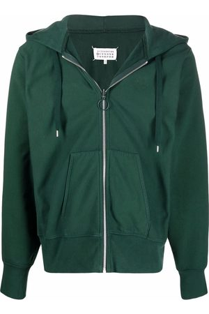 Maison Margiela Zip-up cotton hoodie