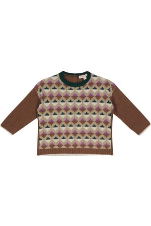 Caramel Baby Jeon wool-blend sweater