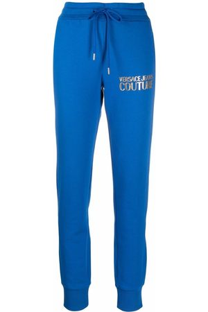 Versace Jeans Couture Logo-print track pants