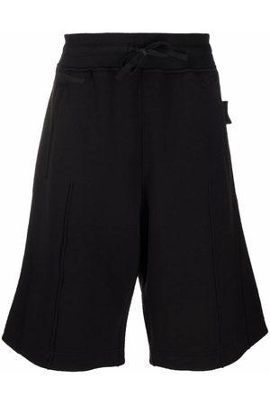 Stone Island Logo-patch knee-length Bermuda shorts