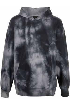 THOM KROM Men Hoodies - Tie-dye print hoodie