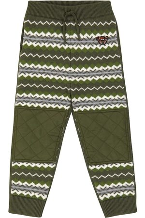 Burberry Wool and cashmere knit sweatpants