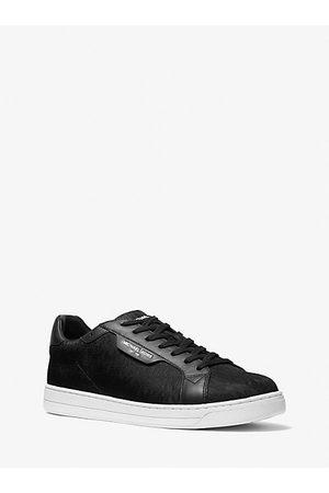 Michael Kors Men Sneakers - MK Keating Logo Jacquard Sneaker - - Michael Kors