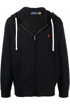 Polo Ralph Lauren Embroidered-logo zip-up hoodie