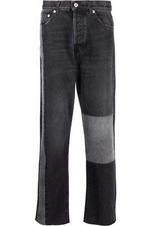 VALENTINO Patchwork straight-leg trousers