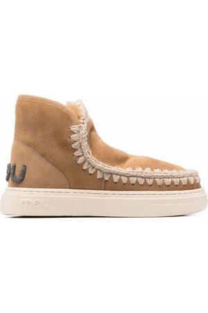 Mou Eskimo logo boots